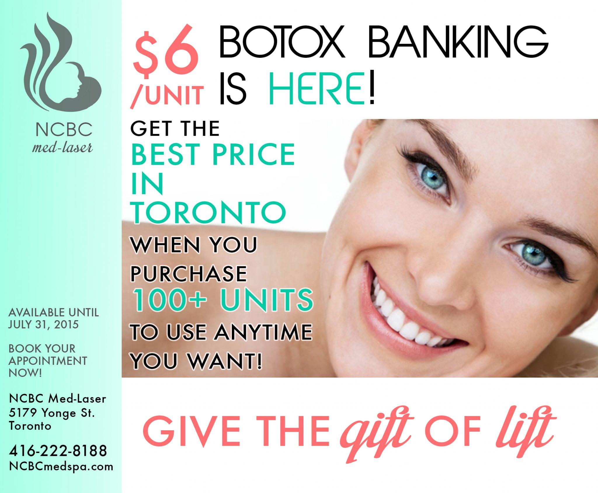 botox banking