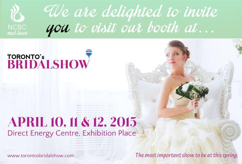 Torontos bridal show invitation ncbc med laser skin torontos bridal show invitation stopboris Images